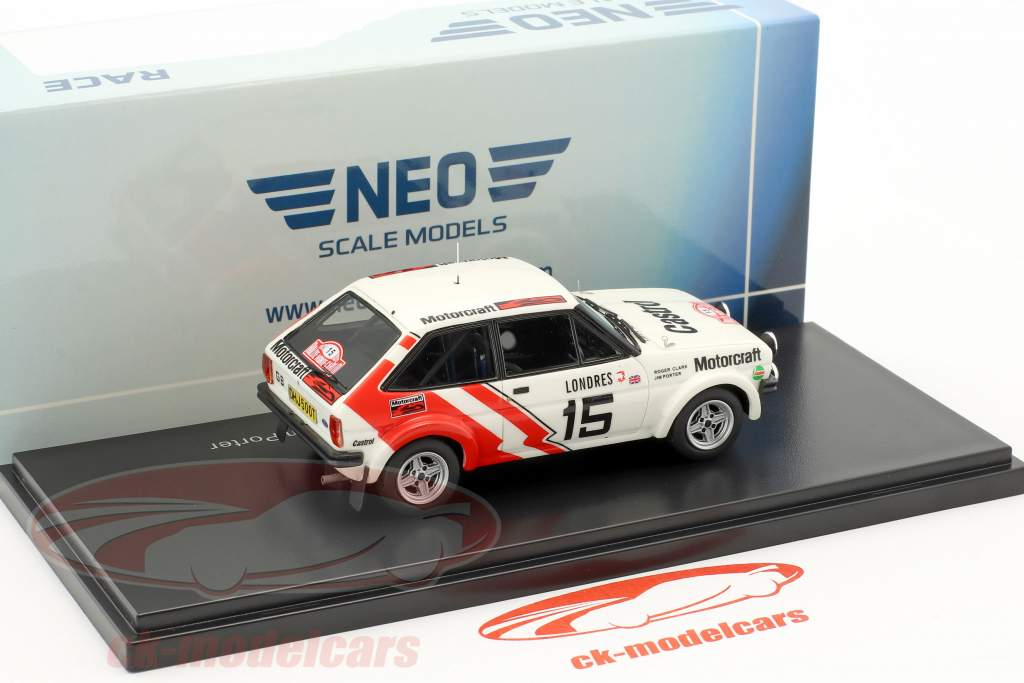 Ford Fiesta 1600 Gr.2 #15 Rallye Monte Carlo 1979 Clark, Porter 1:43 Neo