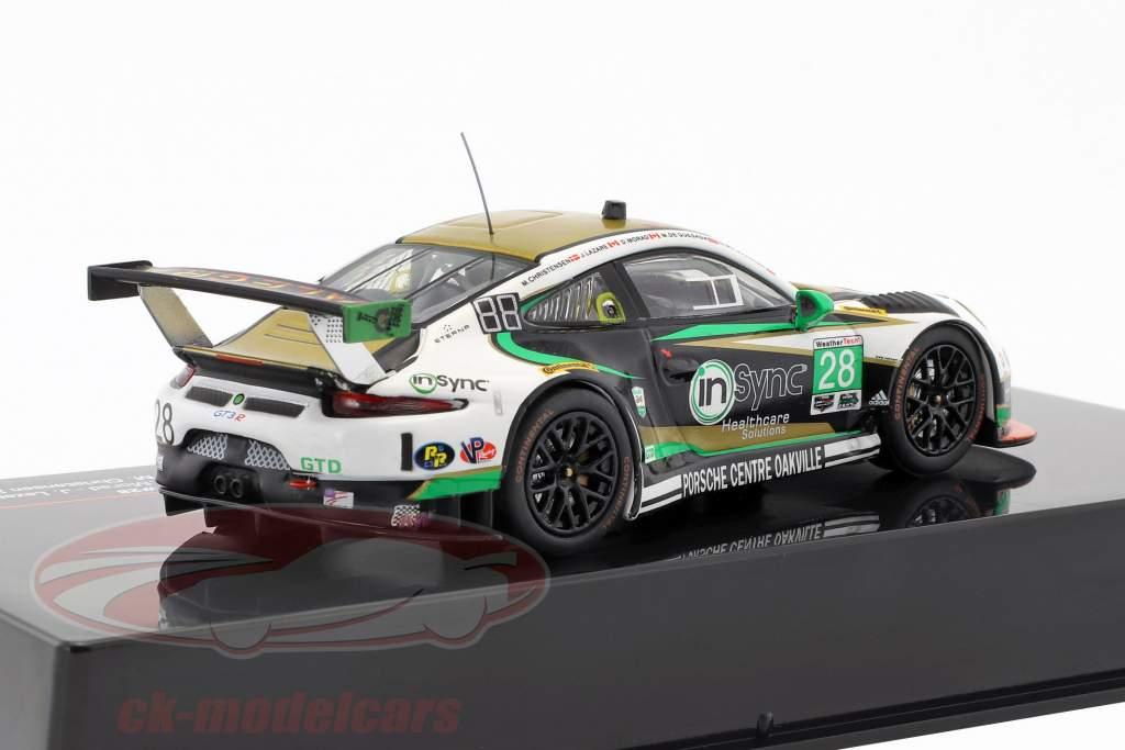 Porsche 911 GT3 R #28 Sieger GTD Klasse 24h Daytona 2017 Alegra Motorsports 1:43 Ixo