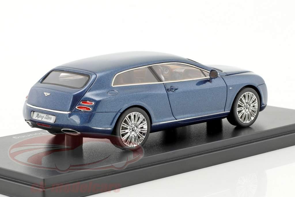 Bentley Continental Flying Star by Touring anno di costruzione 2010 blu metallico 1:43 Neo