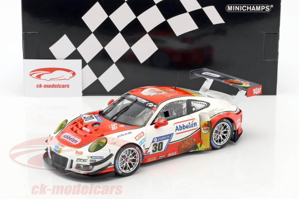 Porsche 911 GT3 R #30 24h Nürburgring 2017 Frikadelli Racing 1:18 Minichamps