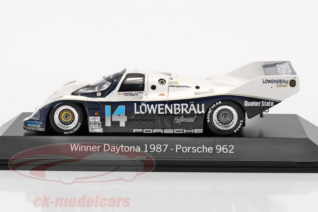Porsche 962 #14 winnaar 24h Daytona 1987 Holbert Racing 1:43 Spark