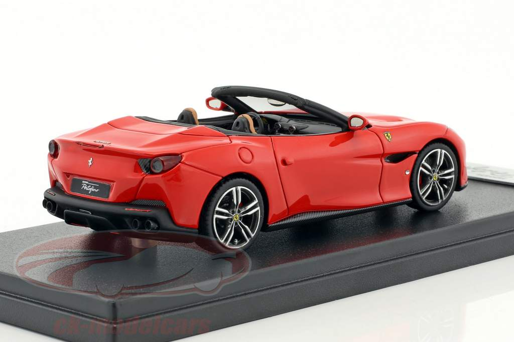 Ferrari Portofino Open Top year 2017 scuderia red 1:43 LookSmart
