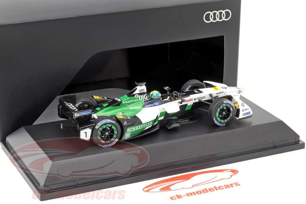Lucas di Grassi Audi e-tron FE04 #1 formule E 2017/2018 1:43 Spark