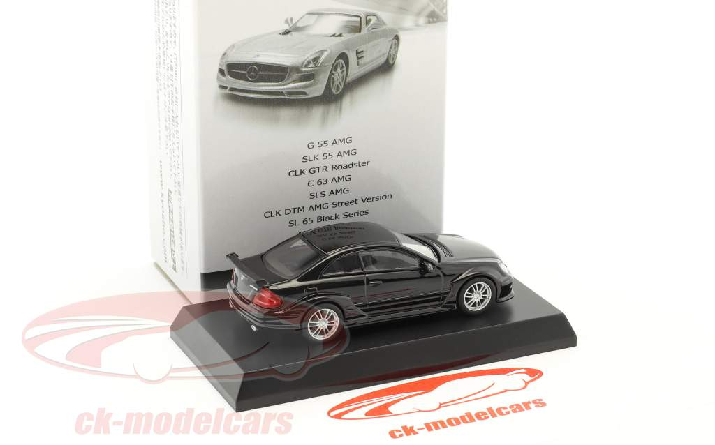 Mercedes-Benz CLK DTM AMG Street Version noir 1:64 Kyosho