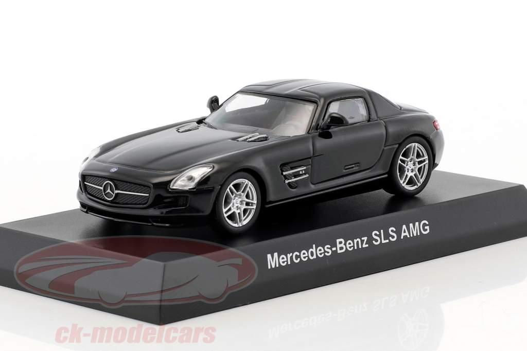 Mercedes-Benz SLS AMG schwarz 1:64 Kyosho
