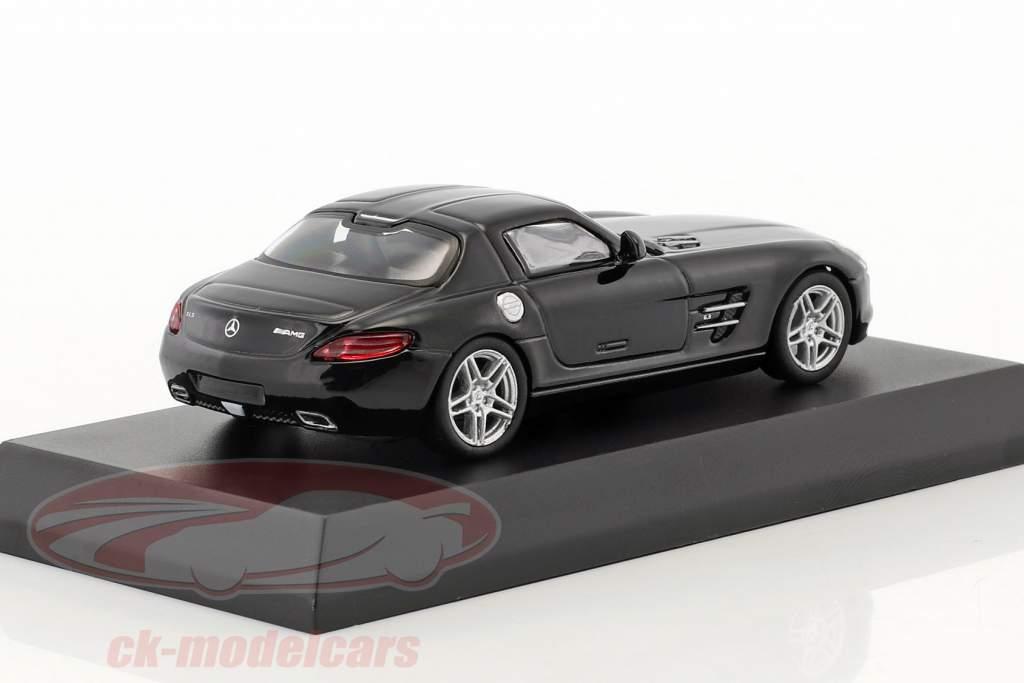 Mercedes-Benz SLS AMG black 1:64 Kyosho