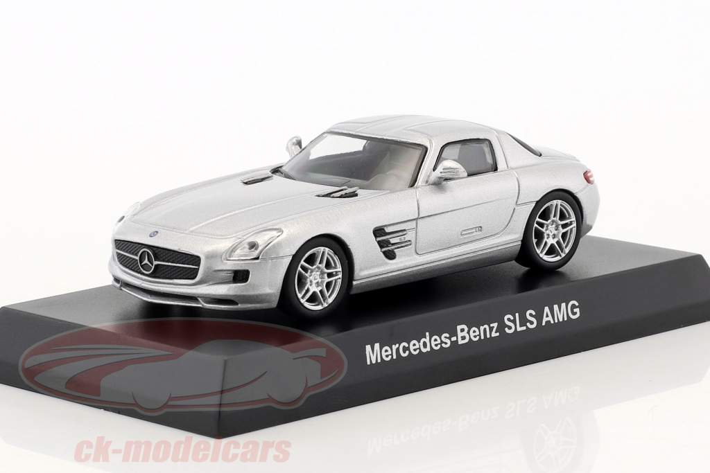 Mercedes-Benz SLS AMG argent métallique 1:64 Kyosho