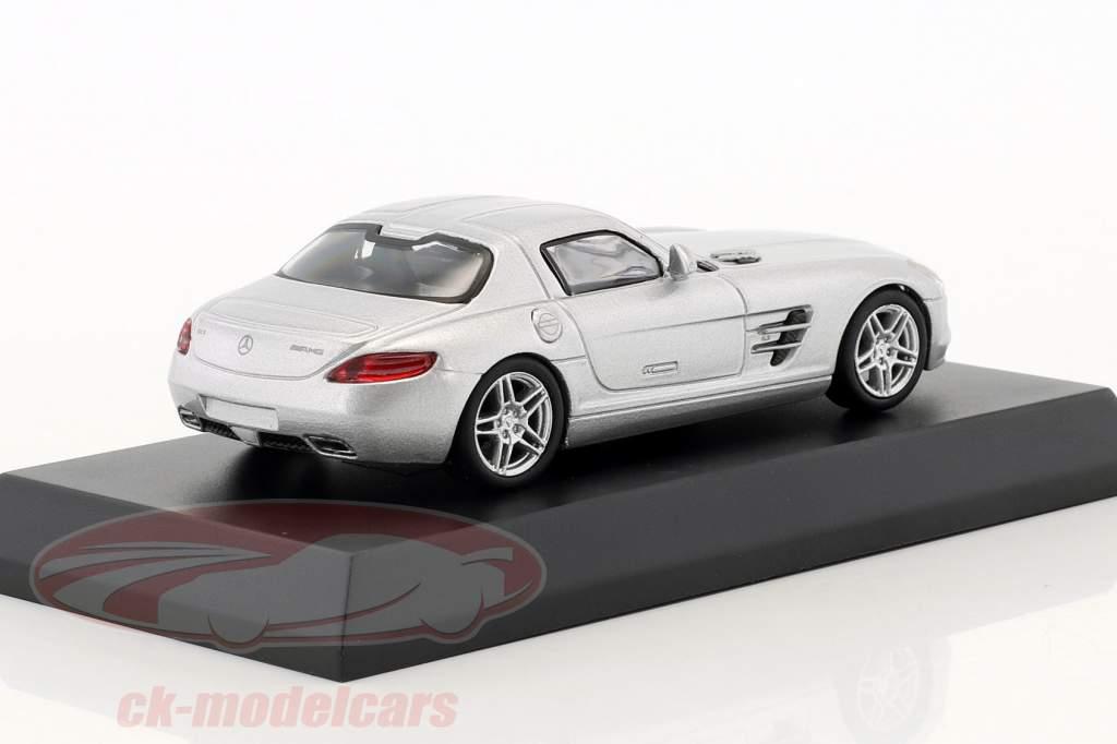 Mercedes-Benz SLS AMG silber metallic 1:64 Kyosho