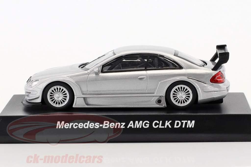 Mercedes-Benz CLK DTM AMG Street Version argento 1:64 Kyosho