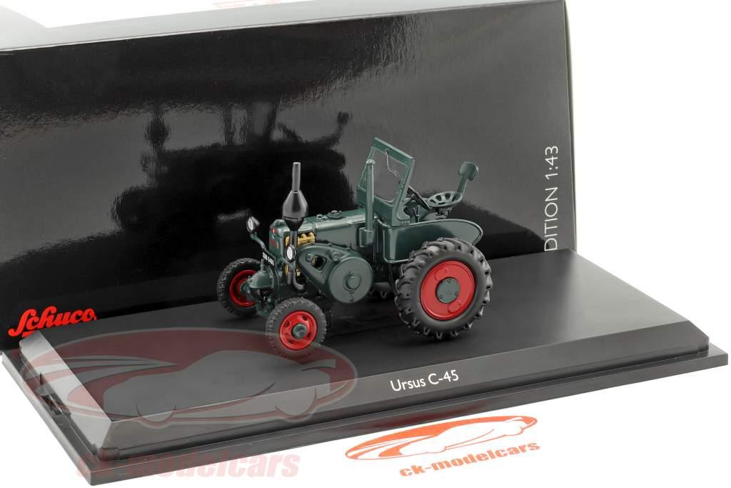 Ursus C-45 Traktor dunkelgrün 1:43 Schuco
