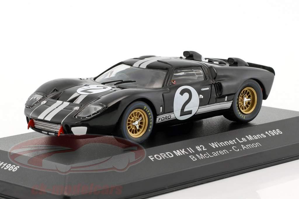 Ford MK II #2 Winner 24h LeMans 1966 McLaren, Amon 1:43 Ixo