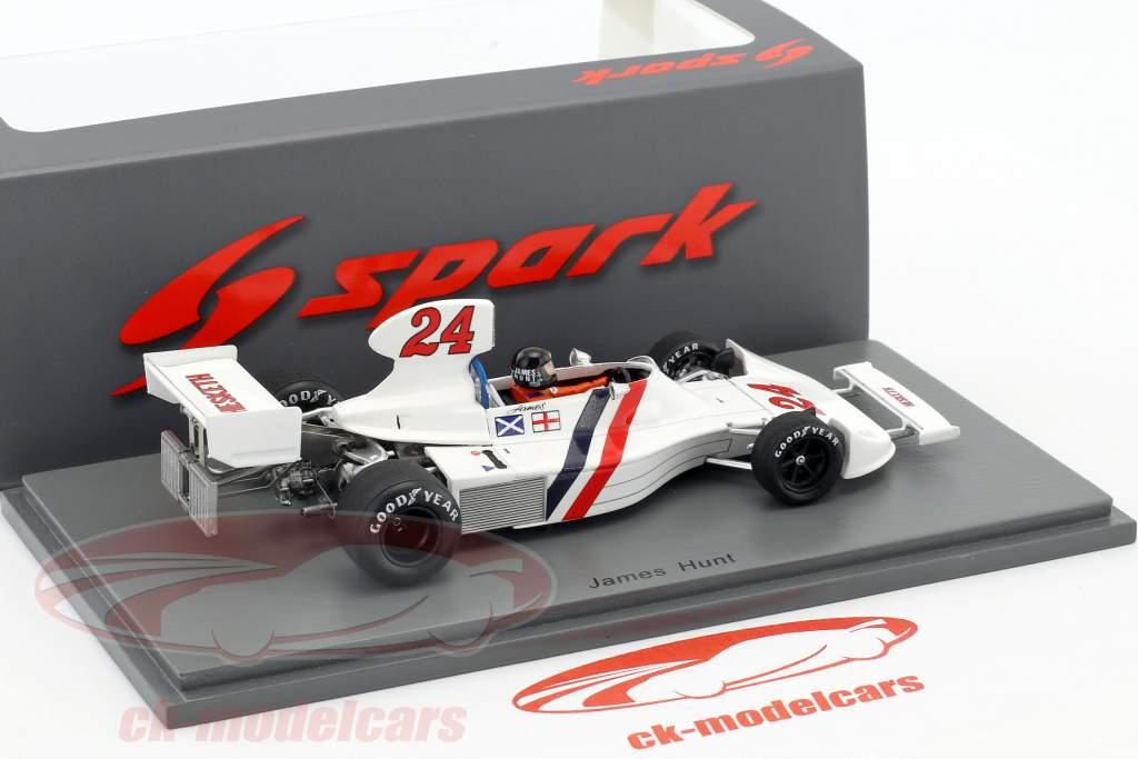 James Hunt Hesketh 308 #24 gagnant néerlandais GP formule 1 1975 1:43 Spark