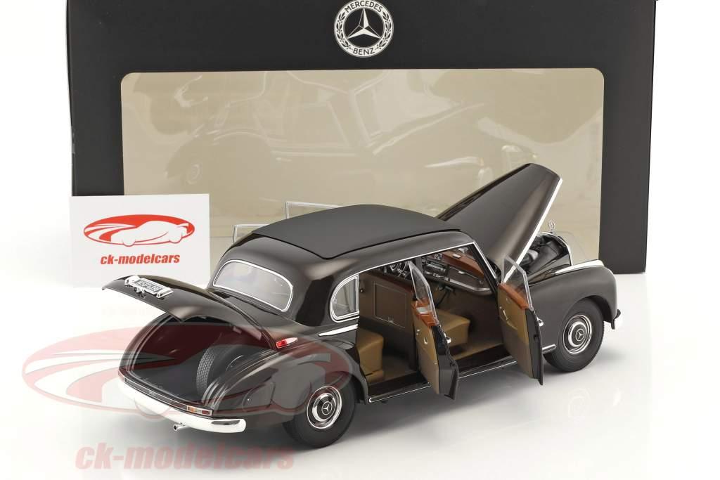 Mercedes-Benz 300 (W186) Bouwjaar 1954 tabak bruin 1:18 Norev