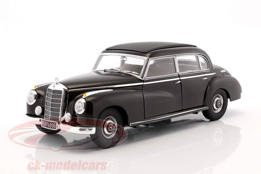 Mercedes-Benz 300 (W186) ano de construção 1954 tabaco marrom 1:18 Norev