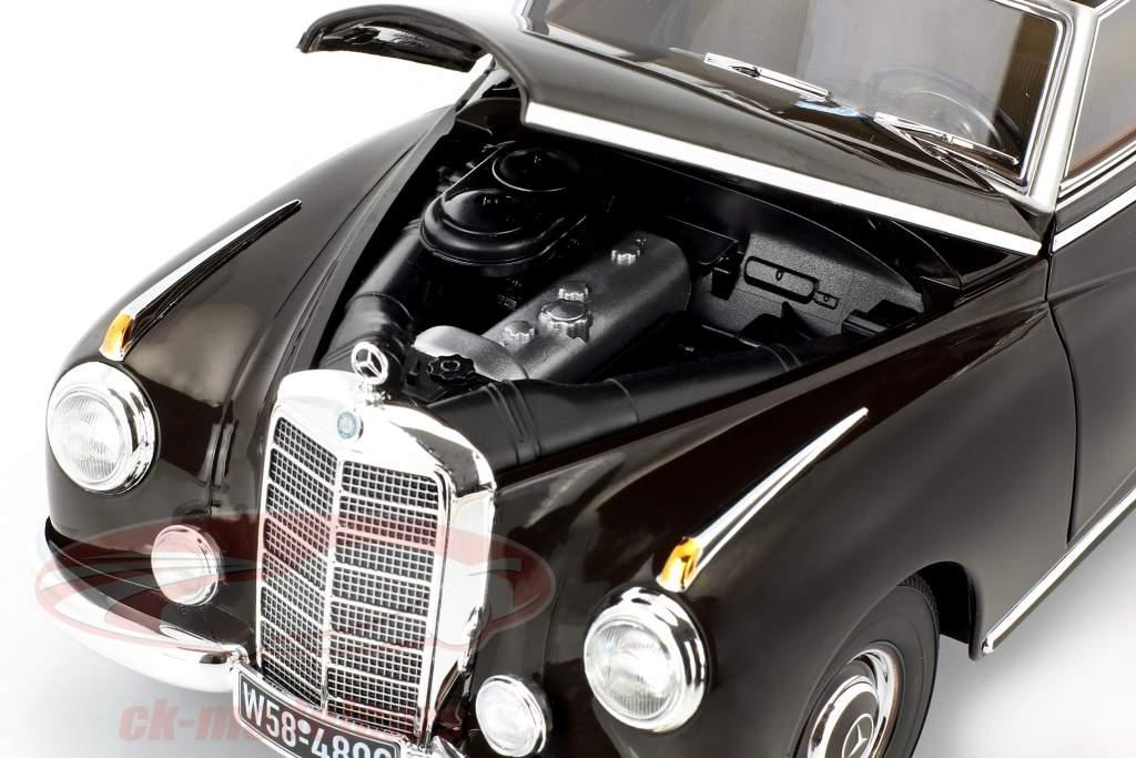 Mercedes-Benz 300 (W186) Opførselsår 1954 tobak brun 1:18 Norev