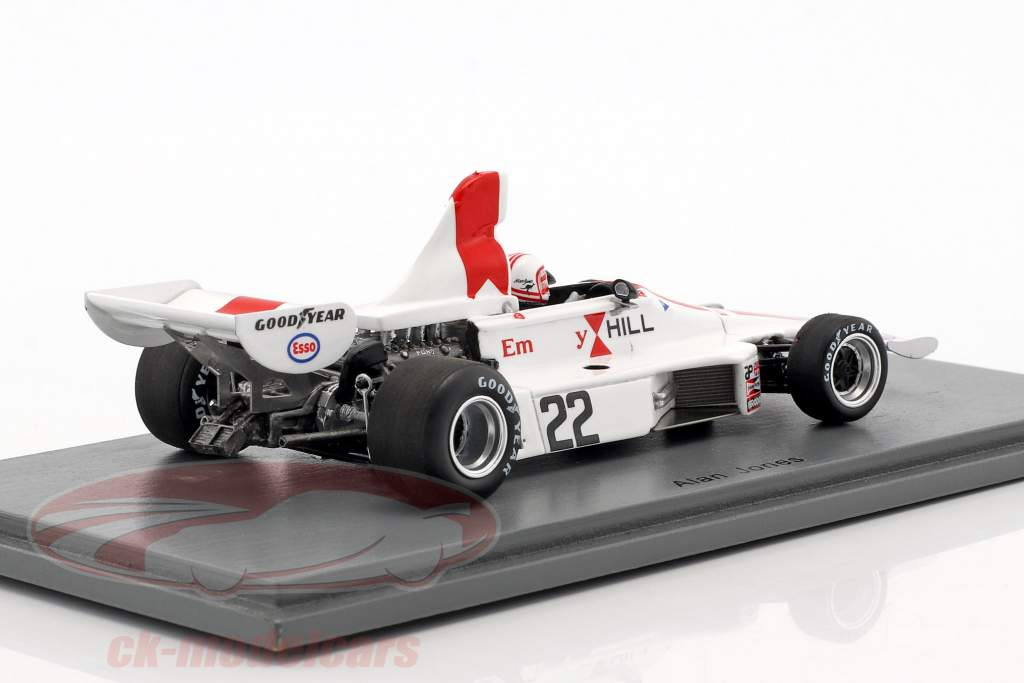 Alan Jones Hill GH1 #22 British GP formula 1 1975 1:43 Spark