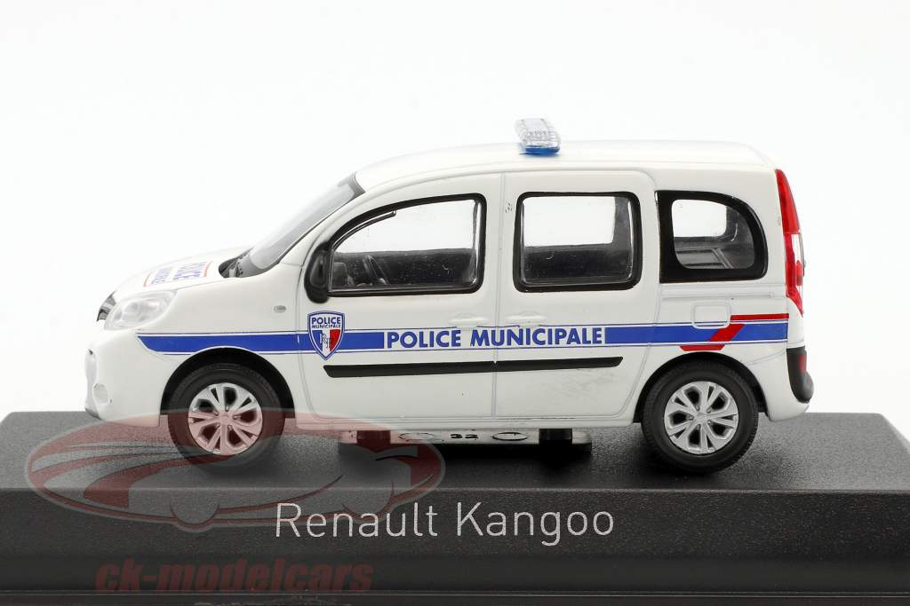 Renault Kangoo Police Municipale anno di costruzione 2013 bianco 1:43 Norev