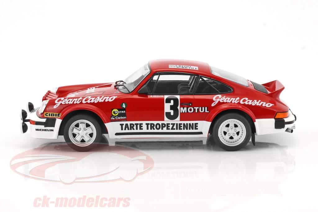 Porsche 911 SC Gr.4 #3 gagnant Rallye D'Armor 1979 Beguin, Lenne 1:18 Solido