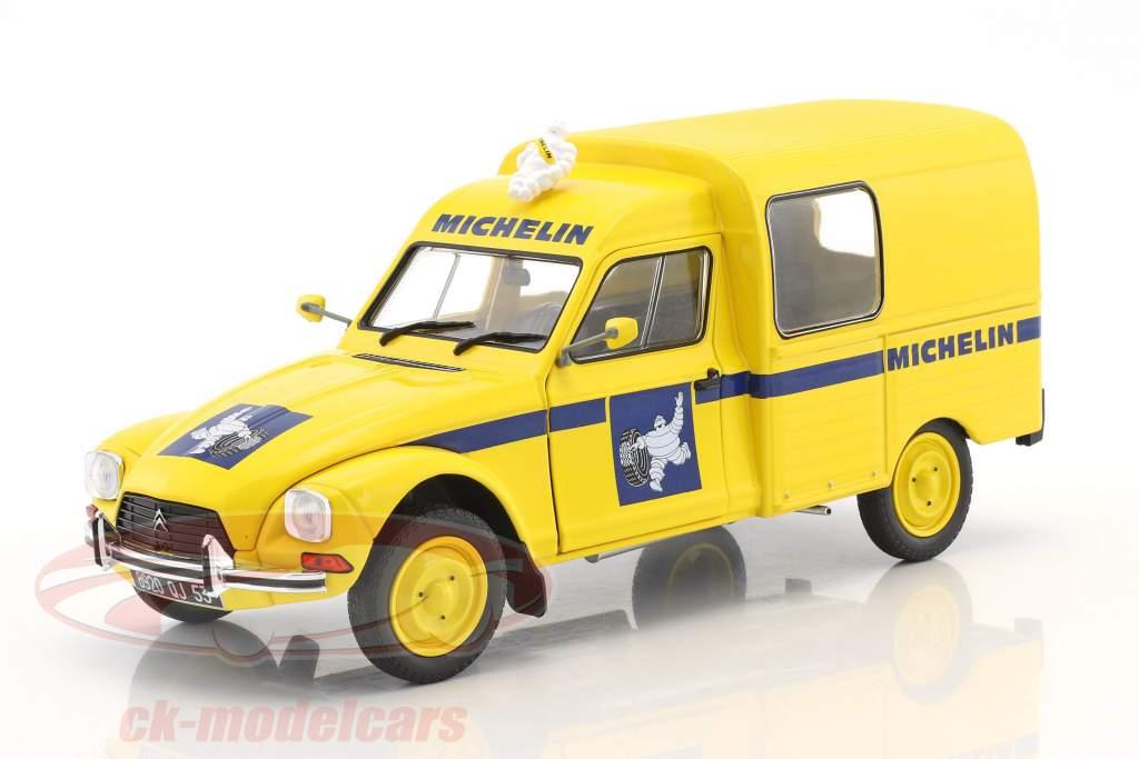 Citroen Acadiane Michelin Baujahr 1984 gelb 1:18 Solido