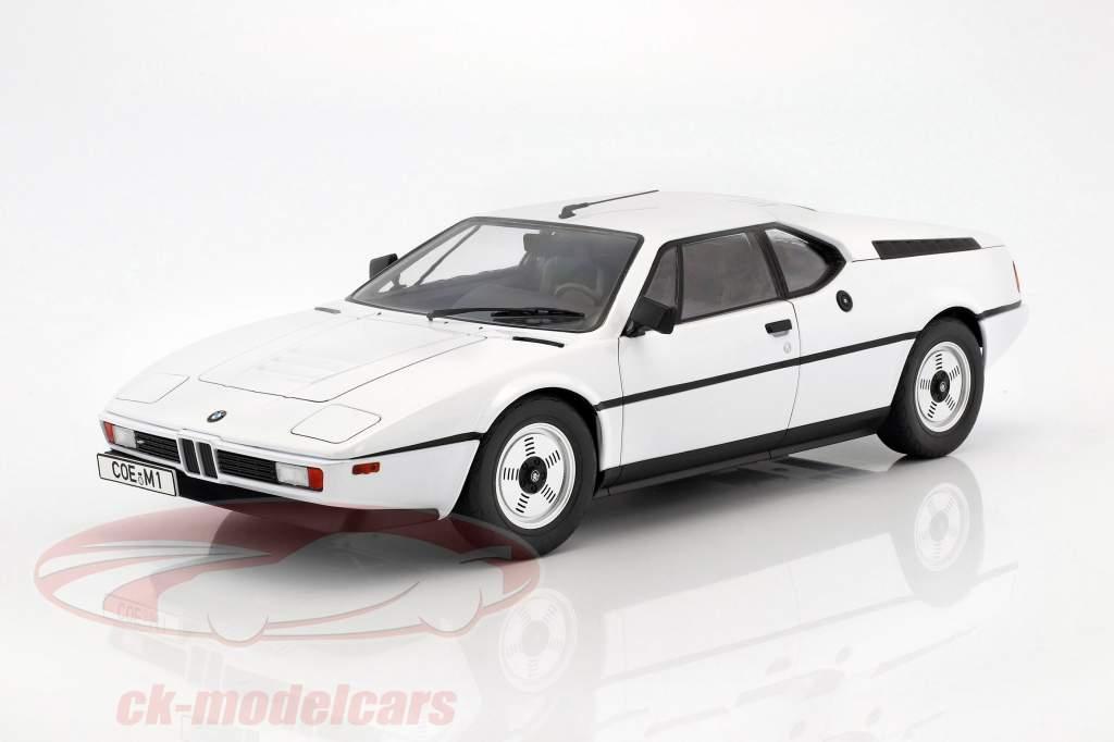 BMW M1 (E26) Street year 1978 white 1:12 KK-Scale