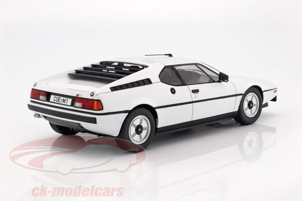 BMW M1 (E26) Street année de construction 1978 blanc 1:12 KK-Scale