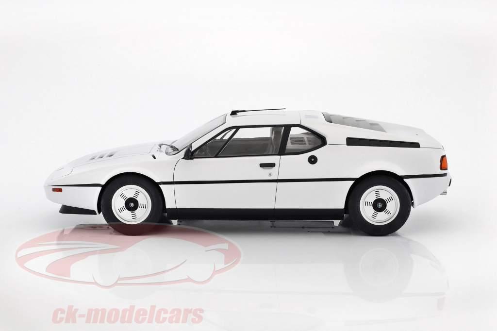 BMW M1 (E26) Street anno di costruzione 1978 bianco 1:12 KK-Scale