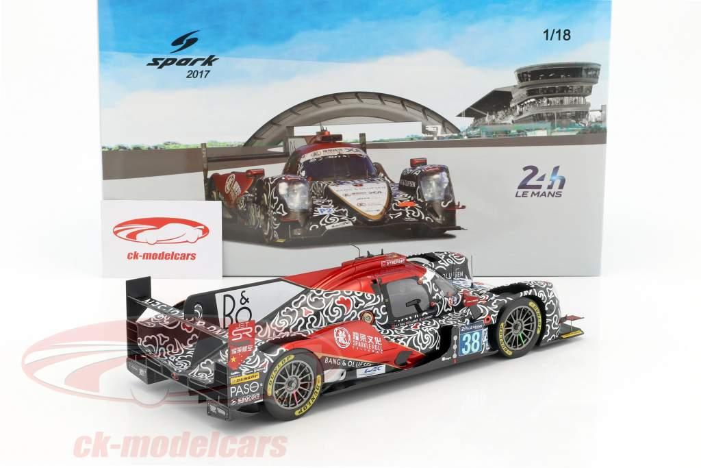 Oreca 07 #38 Winner LMP2 Class 2nd 24h LeMans 2017 Tung, Laurent, Jarvis 1:18 Spark