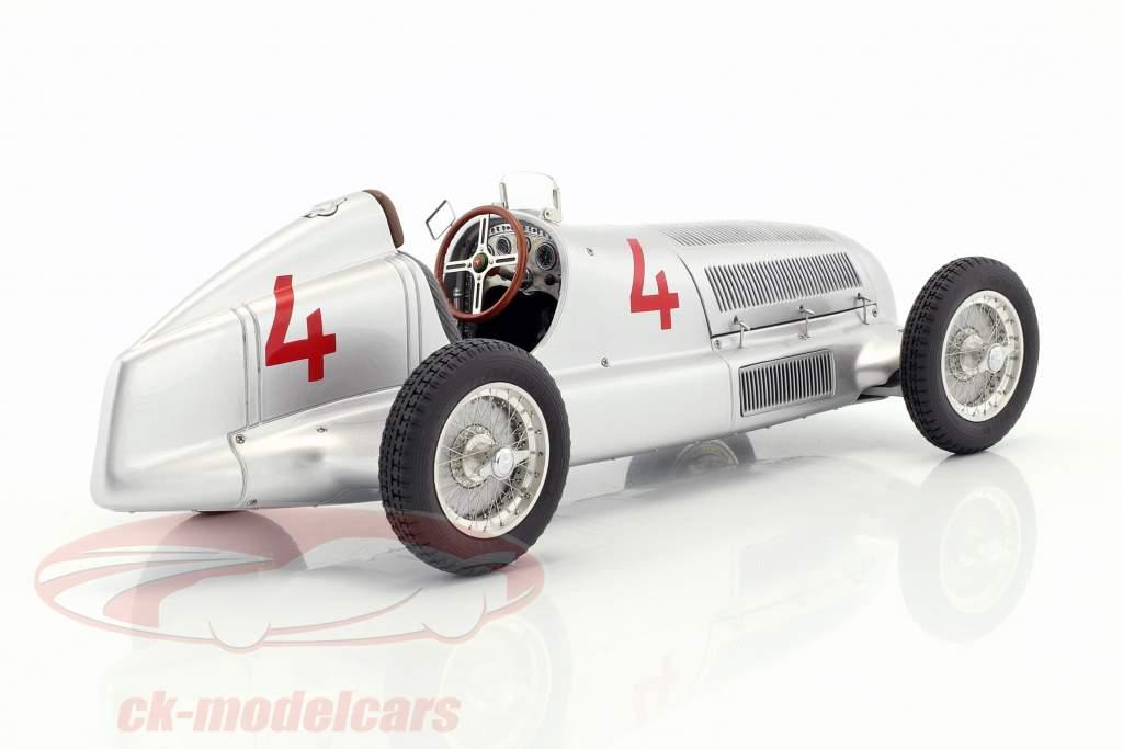 Mercedes-Benz W25 #4 L. Fagioli Formel 1 1935 Sieger Monaco GP 1:18 CMC