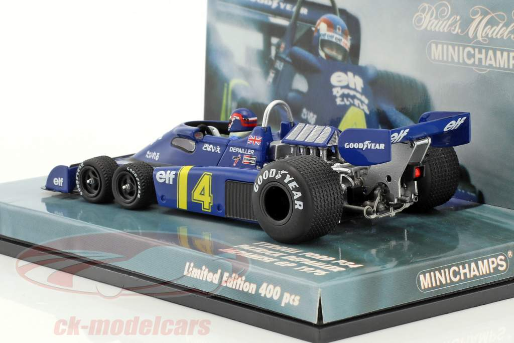 Patrick Depailler Tyrrell P34 #4 2nd japanese GP formula 1 1976 1:43 Minichamps