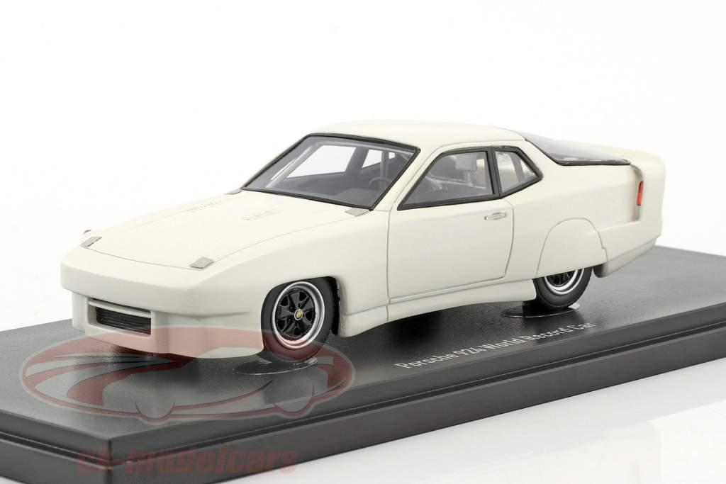 Porsche 924 monde record voiture 1976/1977 blanc 1:43 AutoCult