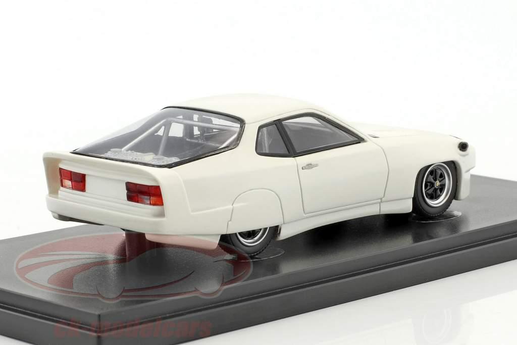 Porsche 924 mundo registro carro 1976/1977 branco 1:43 AutoCult