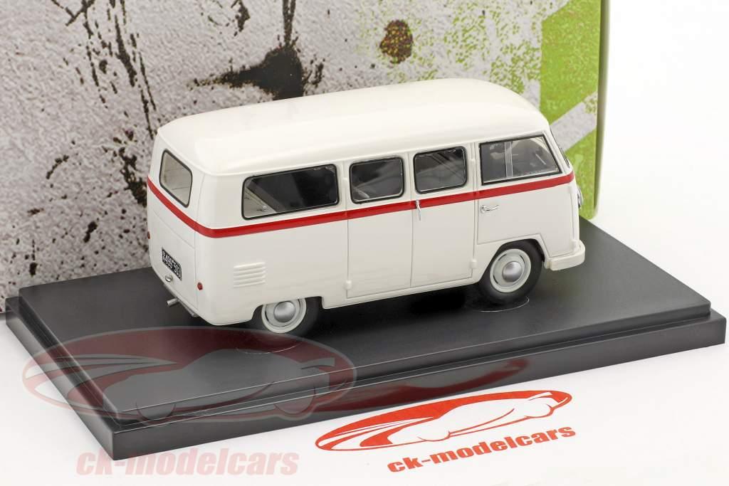 Volkswagen VW Palten Diesel furgone anno di costruzione 1954 bianco 1:43 AutoCult