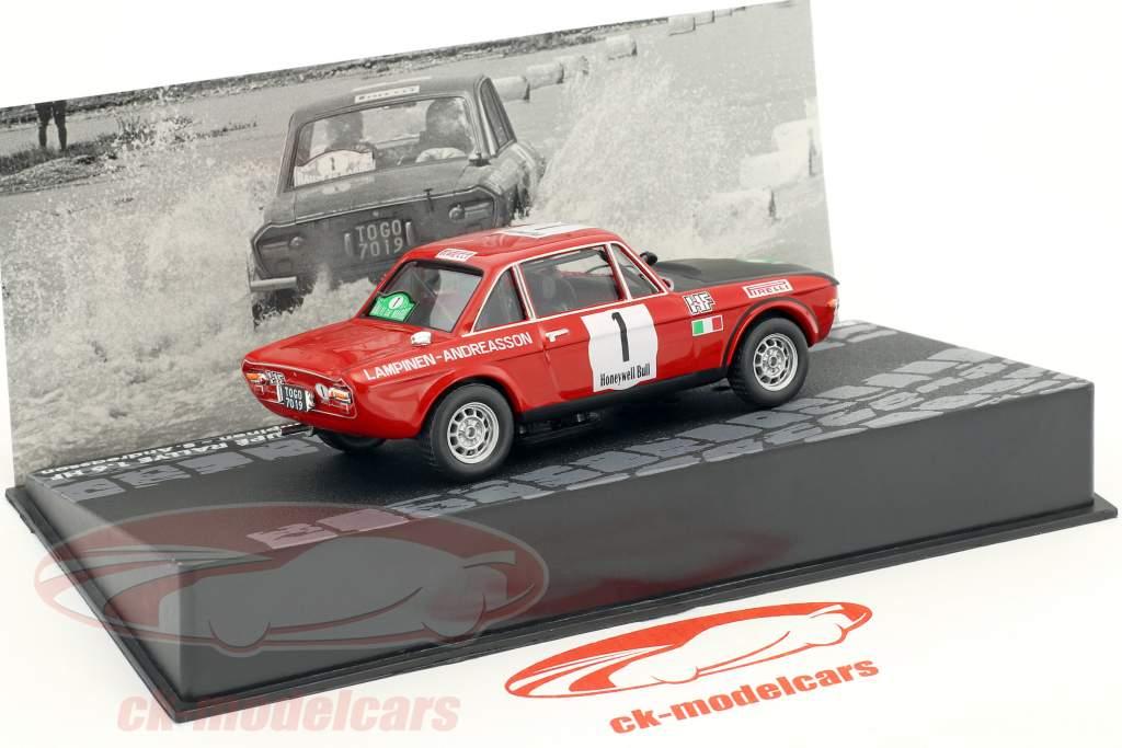 Lancia Fulvia Coupe 1.6 HF #1 vincitore Rallye du Maroc 1972 Lampinen, Andreasson 1:43 Altaya