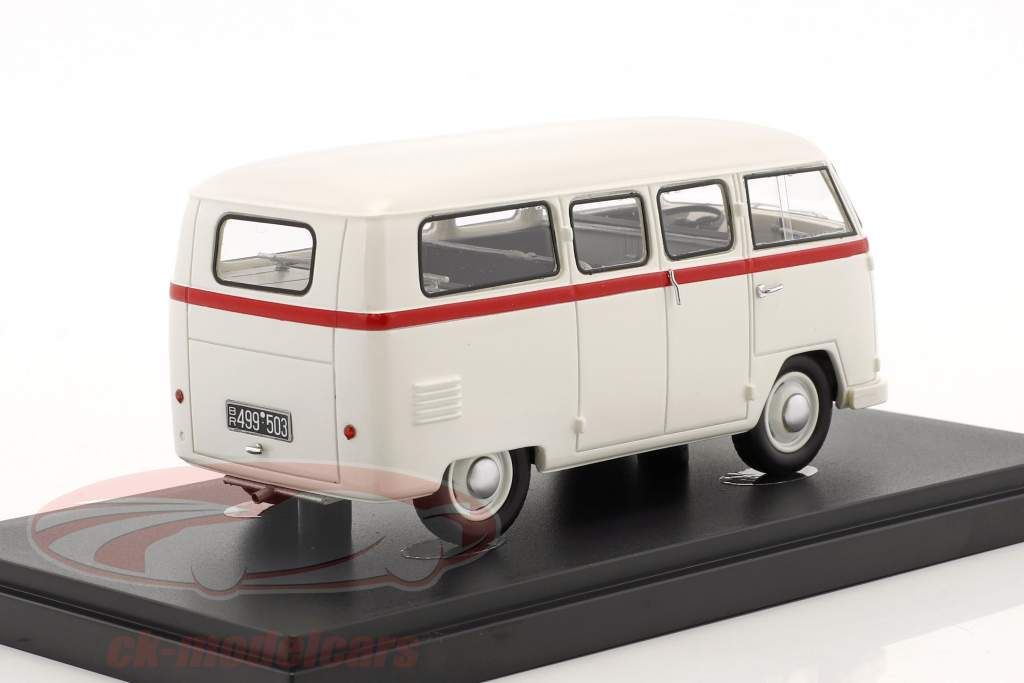 Volkswagen VW Palten Diesel Van construction year 1954 White 1:43 AutoCult