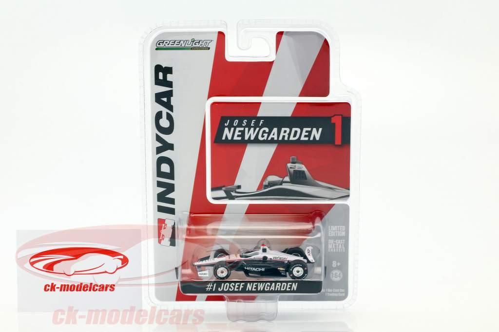 Josef Newgarden Chevrolet #1 IndyCar Series 2018 Team Penske (Hitachi) 1:64 Greenlight