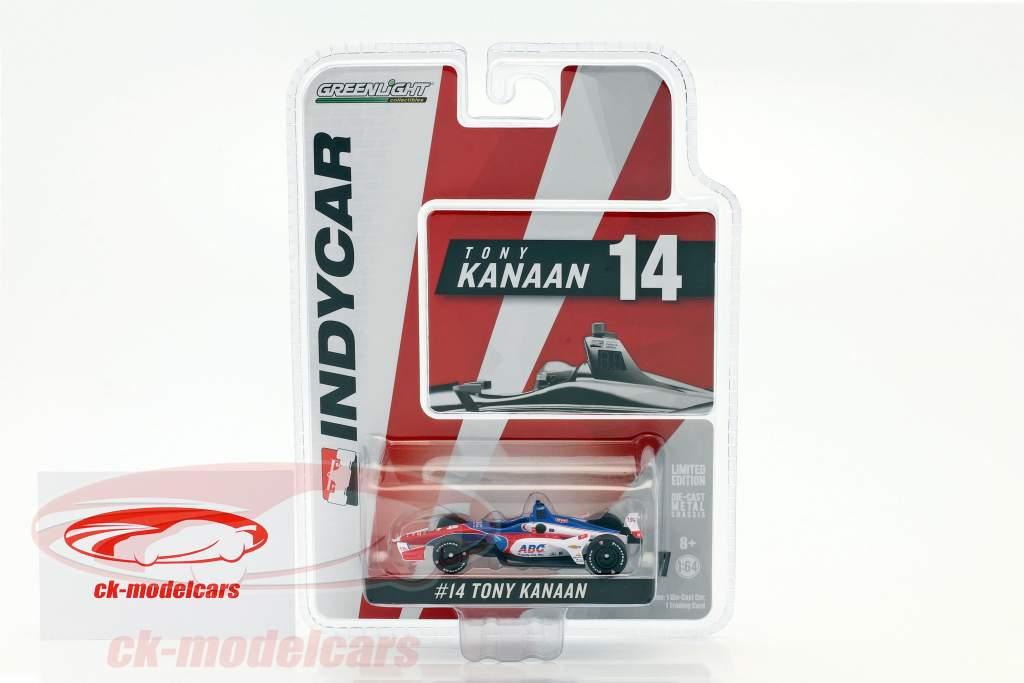 Tony Kanaan Chevrolet #14 IndyCar Series 2018 A. J. Foyt Enterprises 1:64 Greenlight