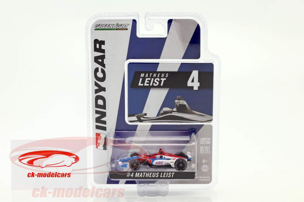 Matheus Leist Chevrolet #4 IndyCar Series 2018 A. J. Foyt Enterprises 1:64 Greenlight