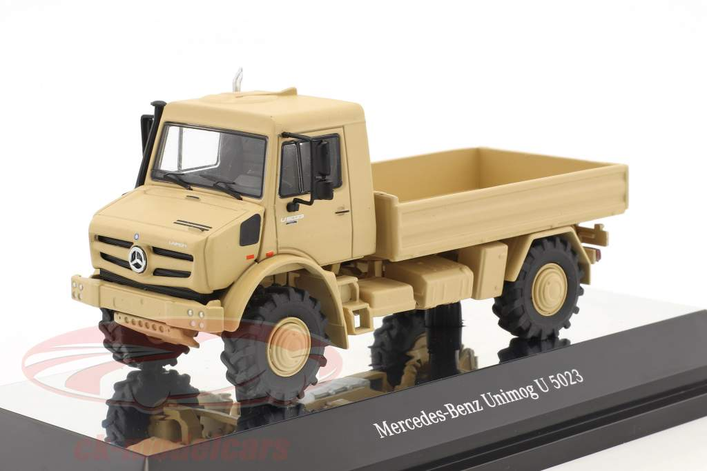 Mercedes-Benz Unimog U 5000 Offroad beige / sand 1:50 NZG