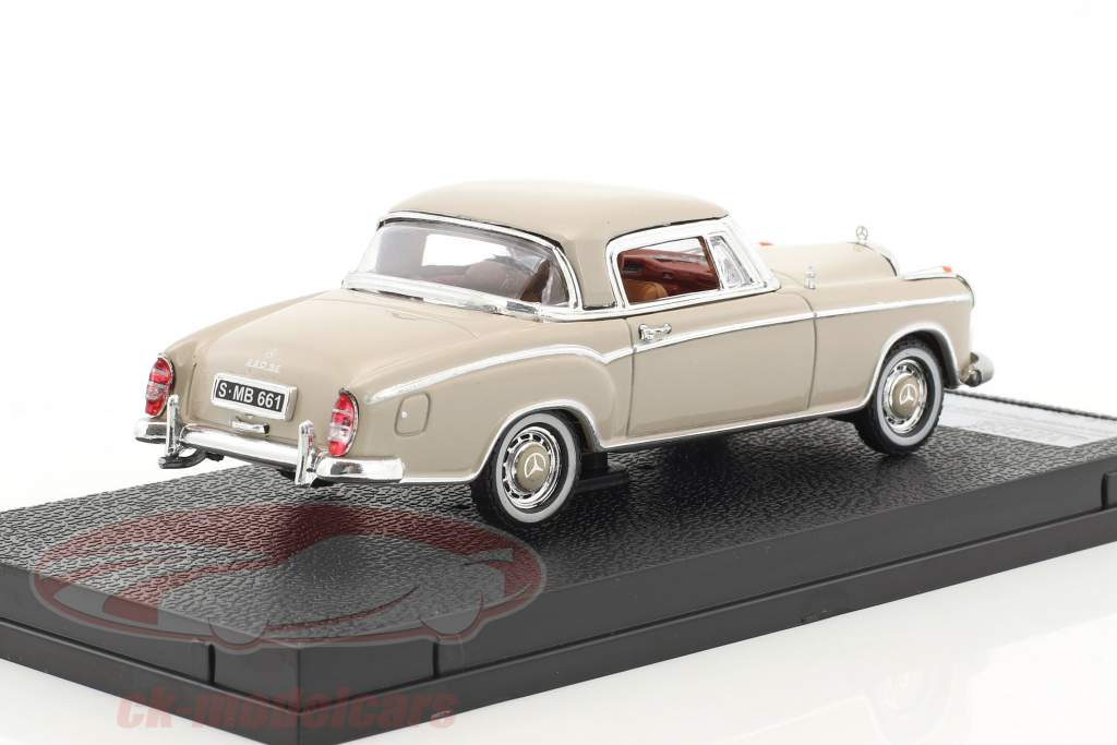 Mercedes-Benz 220 SE coupe anno di costruzione 1959 crema 1:43 Vitesse