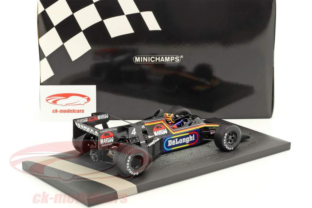 Stefan Bellof Tyrrell 012 #4 Monaco GP Formel 1 1984 1:18 Minichamps