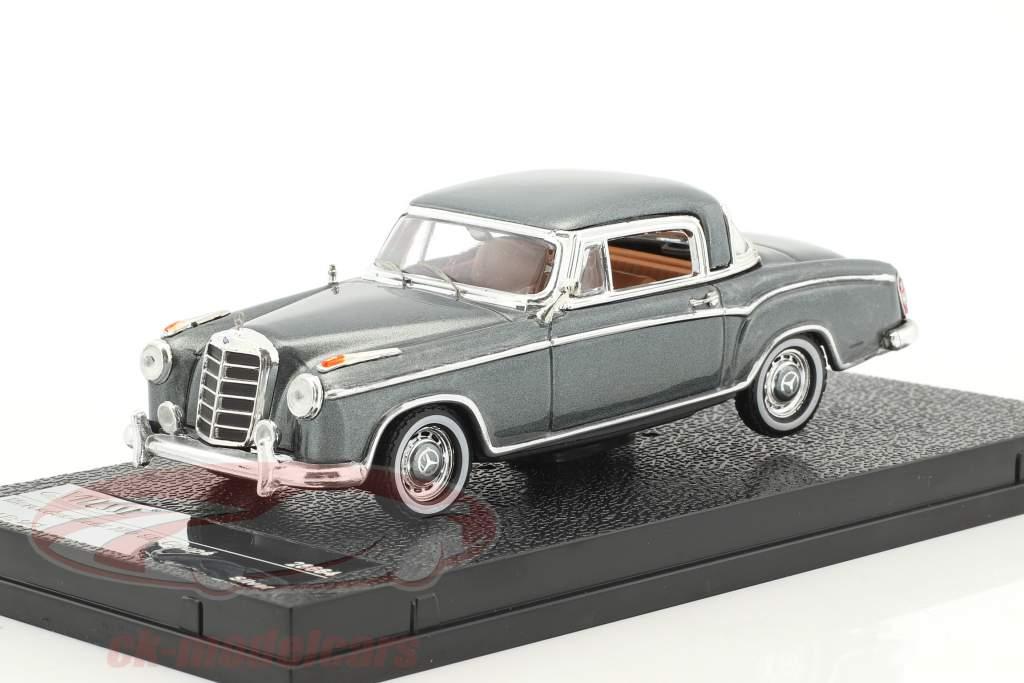 Mercedes-Benz 220 SE coupé année de construction 1959 gris argenté métallique 1:43 Vitesse