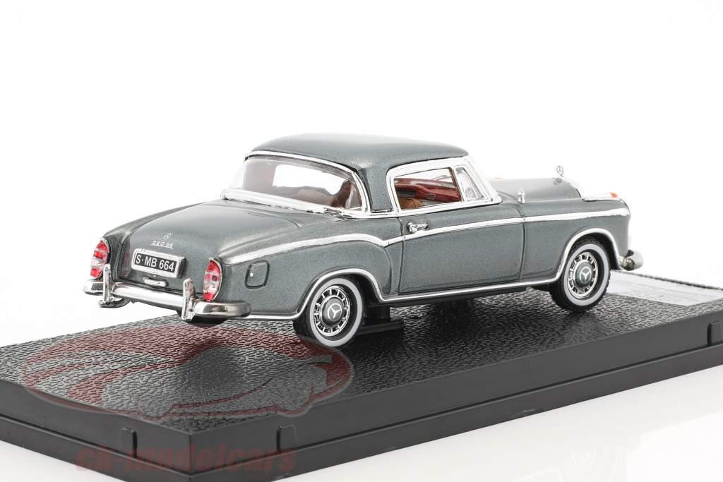 Mercedes-Benz 220 SE coupe año de construcción 1959 gris plata metálico 1:43 Vitesse