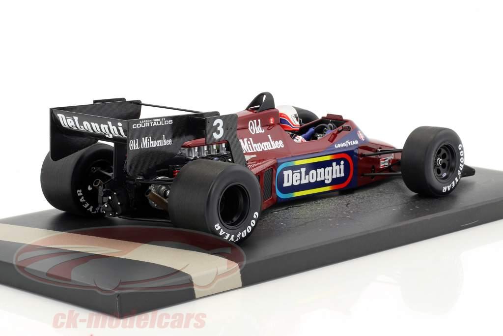 Martin Brundle Tyrrell 012 #3 Detroit GP Formel 1 1984 1:18 Minichamps