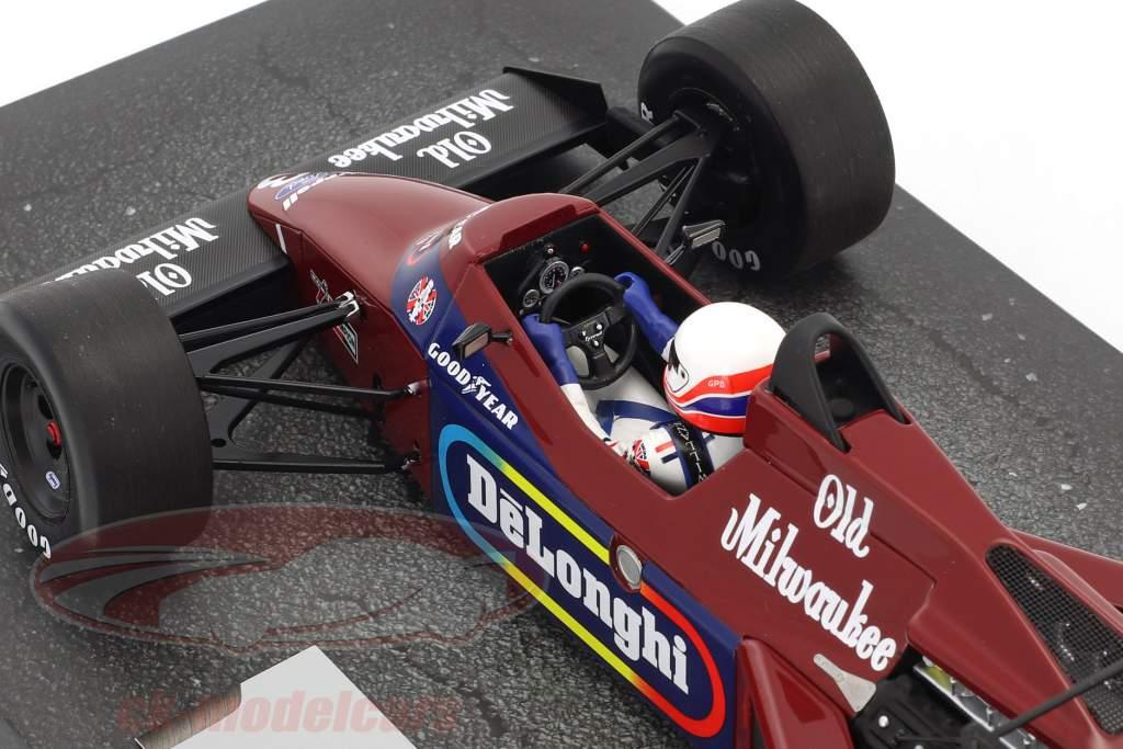 Martin Brundle Tyrrell 012 #3 Detroit GP formule 1 1984 1:18 Minichamps