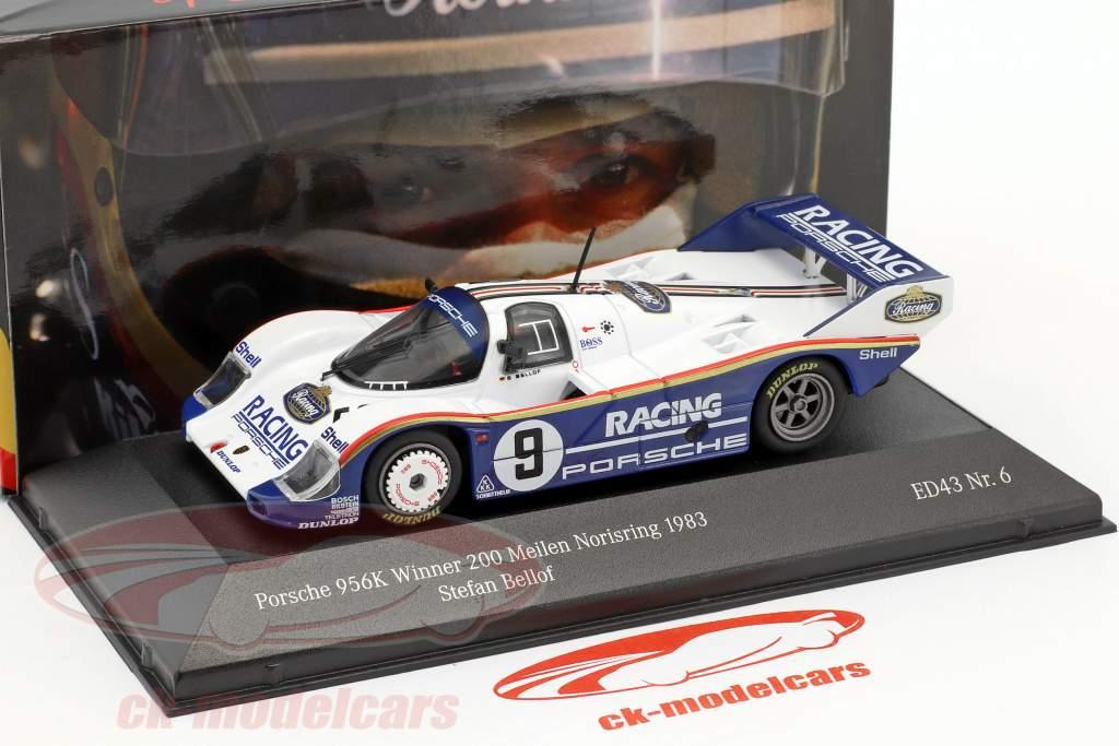 Porsche 956K #9 Winner 200 Meilen Norisring 1983 Stefan Bellof 1:43 CMR