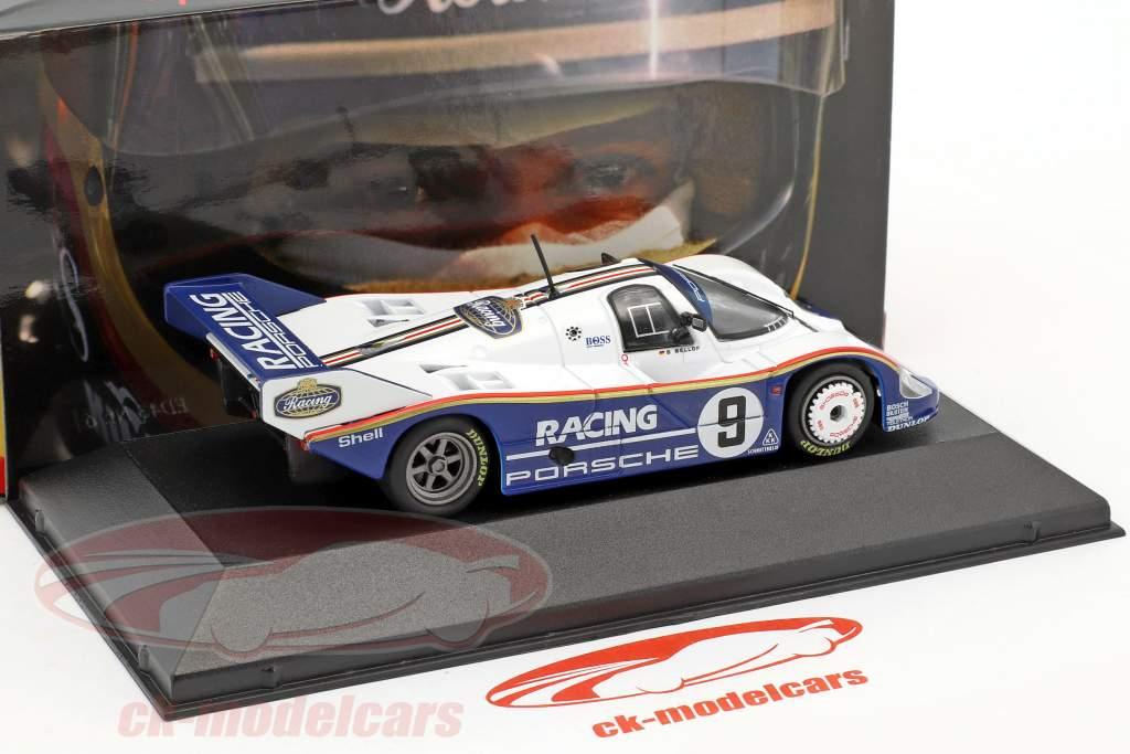 Porsche 956K #9 vencedor 200 milhas Norisring 1983 Stefan Bellof 1:43 CMR
