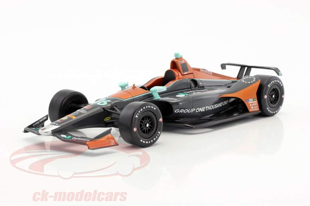 Zach Veach Honda #26 IndyCar Series 2018 Andretti Autosports (Delaware Life) 1:18 Greenlight