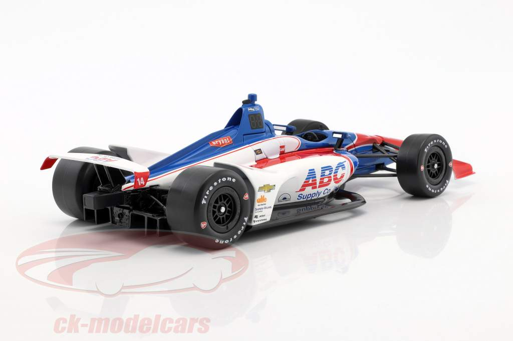Tony Kanaan Chevrolet #14 IndyCar Series 2018 A. J. Foyt Enterprises 1:18 Greenlight