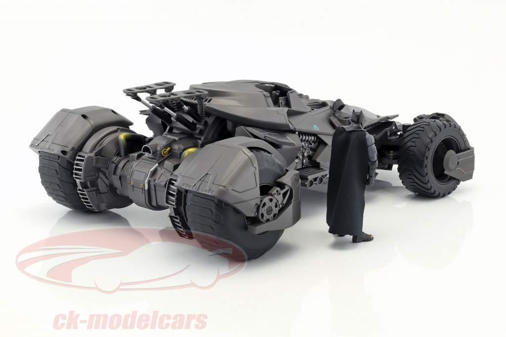 Batmobile RC-Car van de film Justice League 2017 met Batman figuur 1:10 Mattel