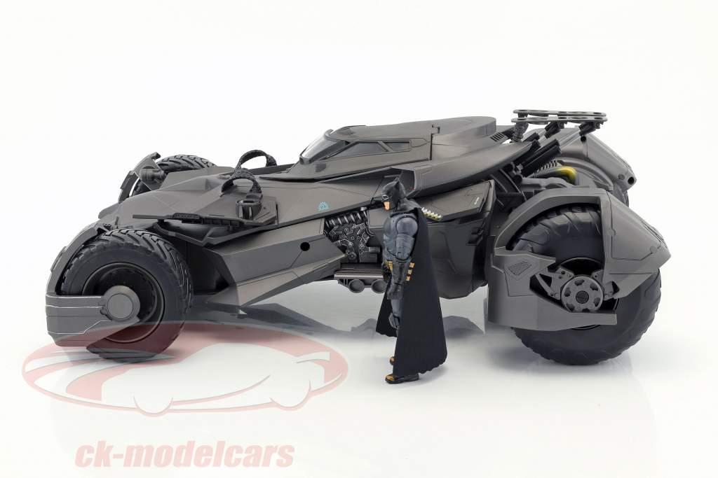 Batmobile out the Movie Justic League 2017 with Batman figure RC-Car 1:10 HotWheels